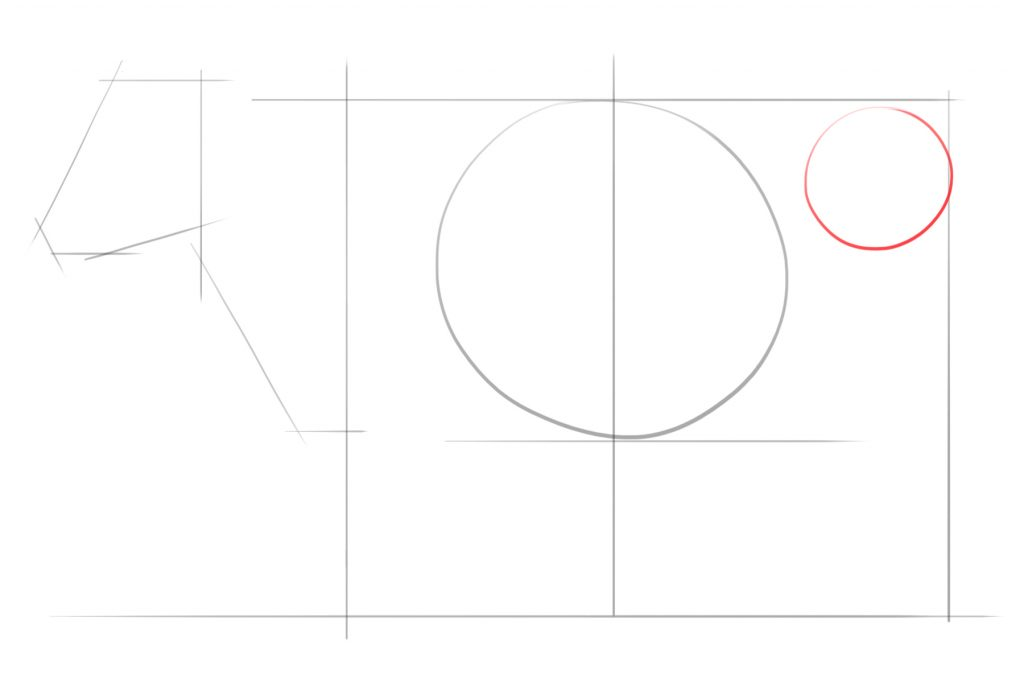 Draw Another Smaller Circle