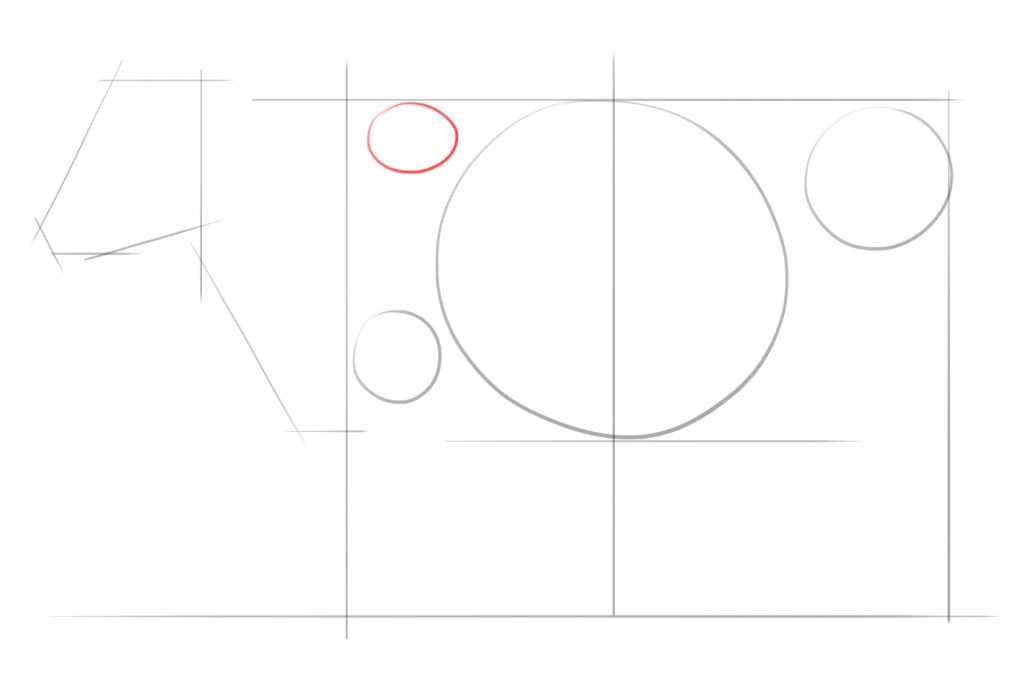 Draw Another Circle Above The Last Circle You Drew