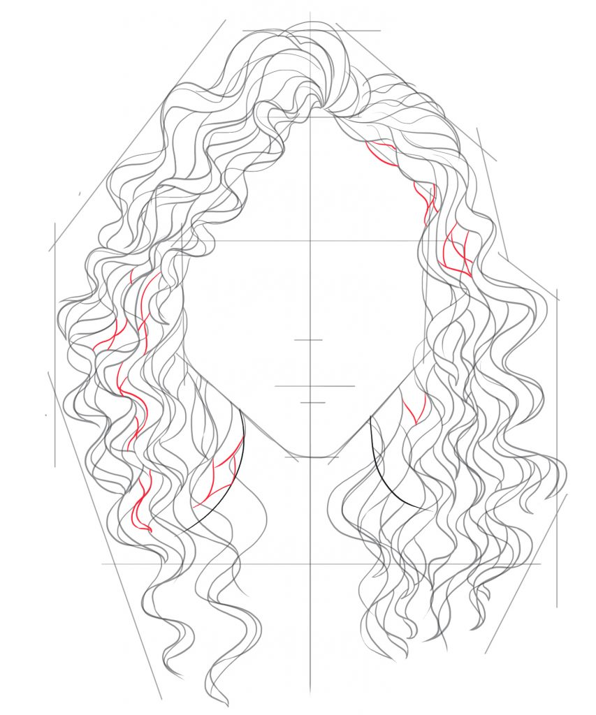 Add curls wherever you think they might be needed