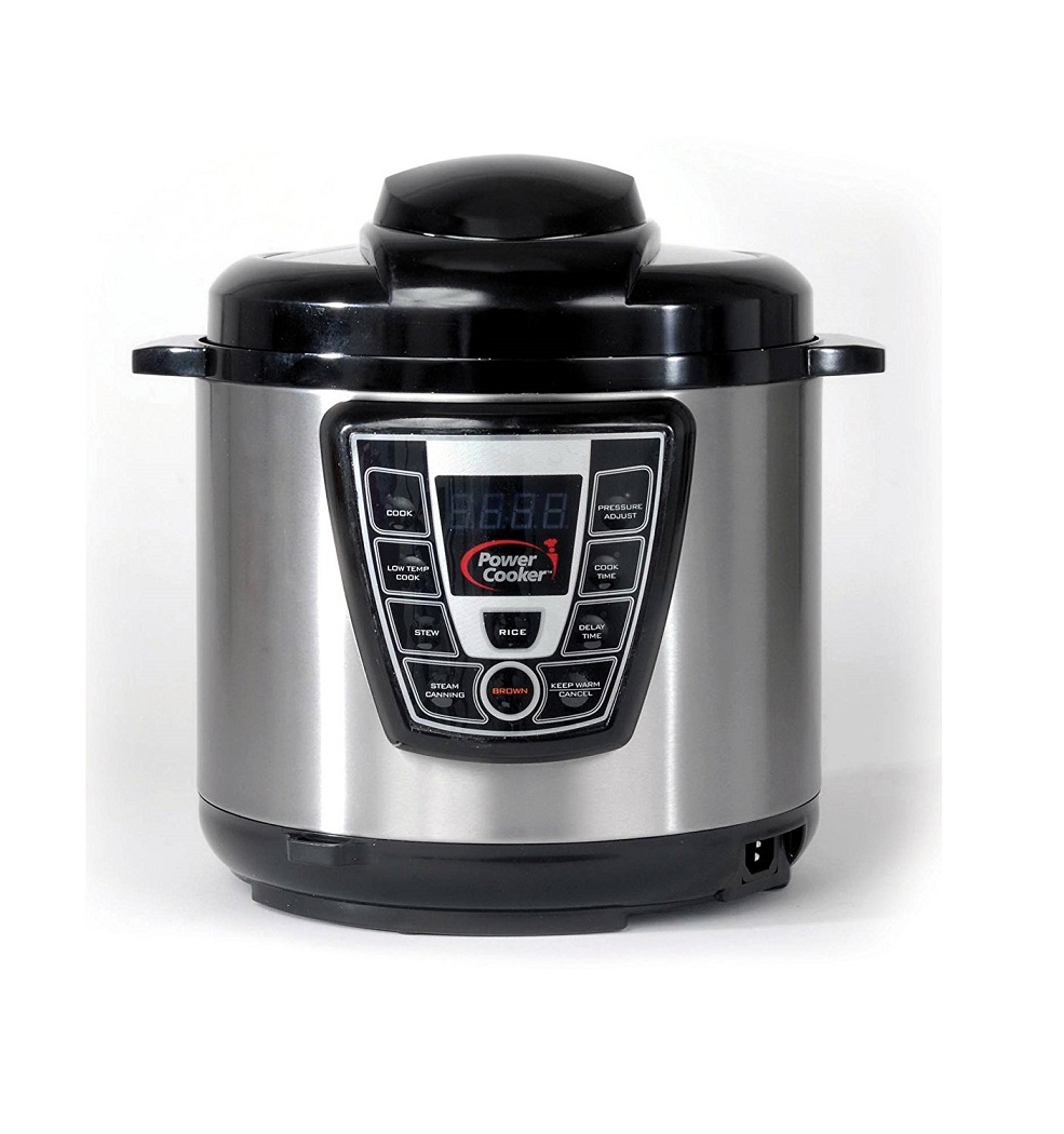 Power Cooker Pro – Digital Electric Pressure Cooker and Canner