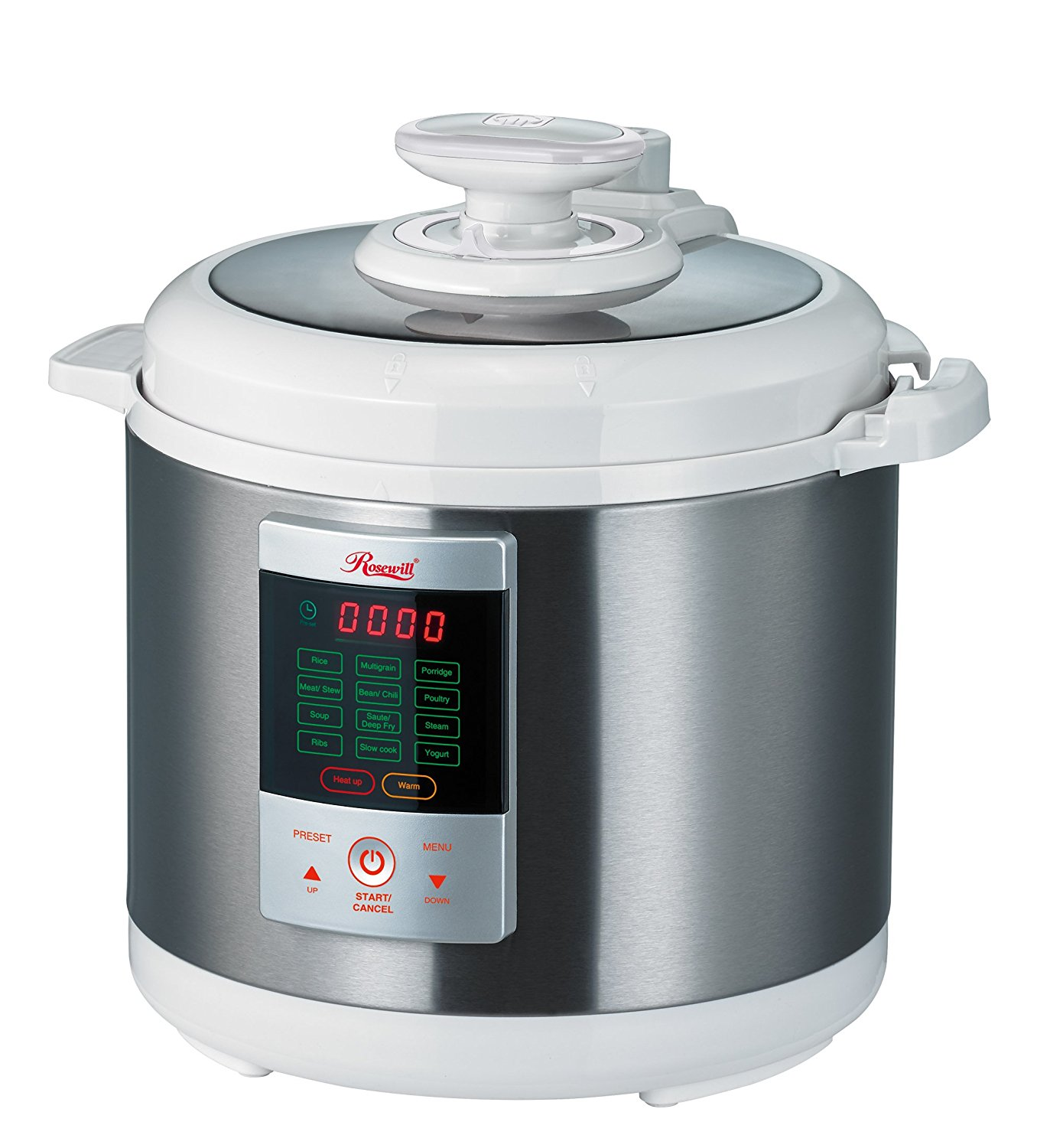 Rosewill 7-in-1 Multi-Function Programmable 6L Electric Pressure Cooker