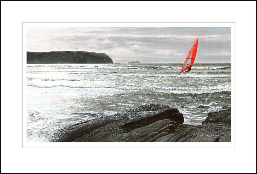 Red Sail, Silver Surf