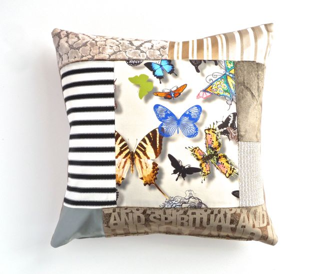 Thai Patchwork Cushion