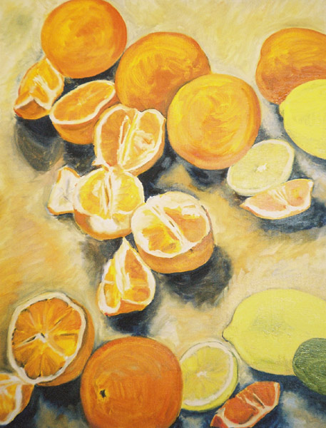 Oranges Lemons and a Lime