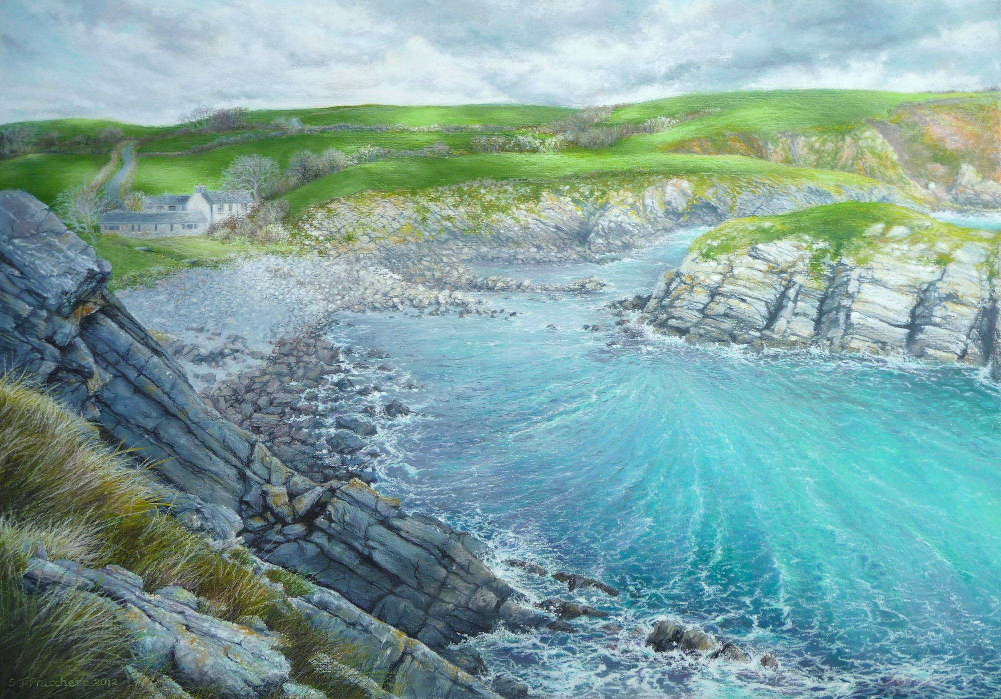 Cove at Stackpole Quay
