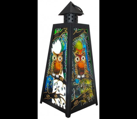 Owl Lover Gift Candle Lantern