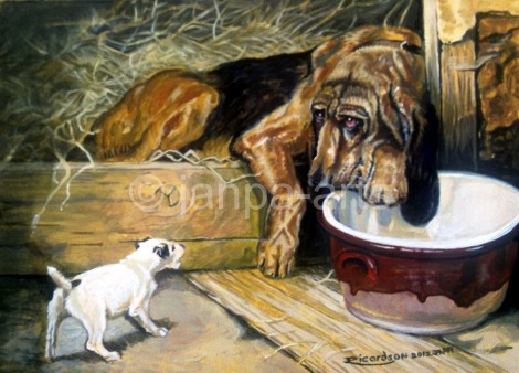 Bloodhound And Terrier