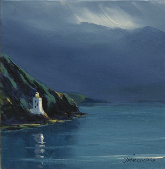 Holy Isle outer light