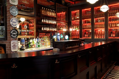 Fresh Interiors -The Harp Bar-Belfast