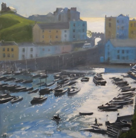 Early Morning Light, Tenby