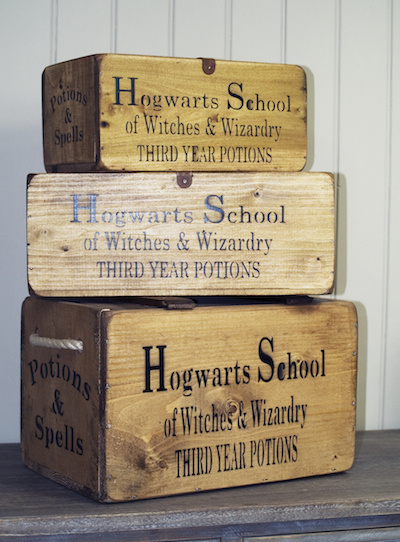 Hogwarts Storage Boxes  Crates