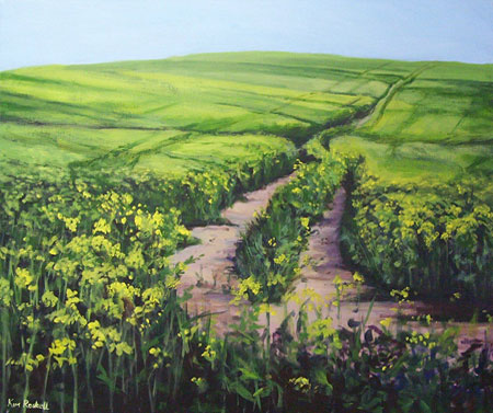 Passage through the rapeseed