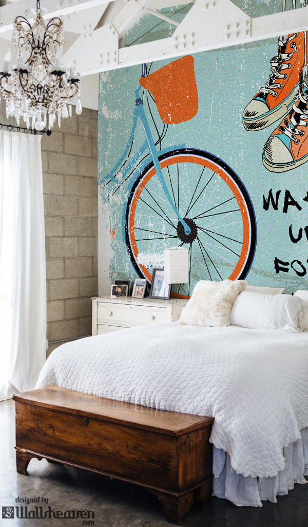Bicycle on the Wall