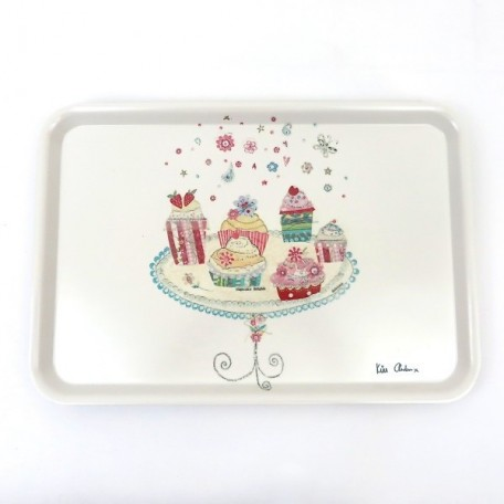 Cupcake Delights Large Serving Tray