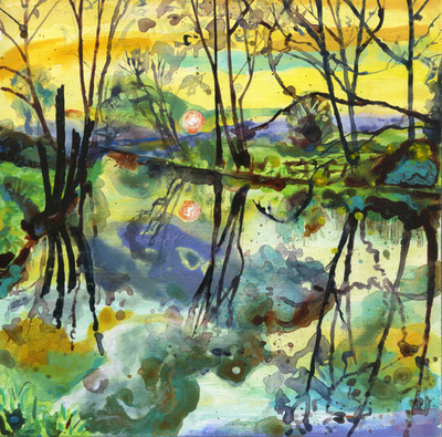 Winter, River Frome 2