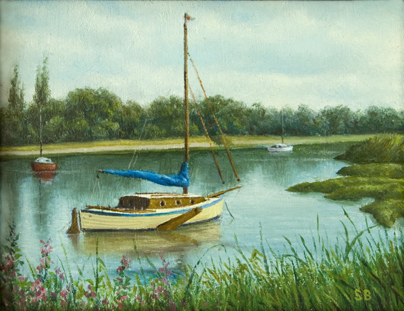 Boats at South Woodham Ferrers 2