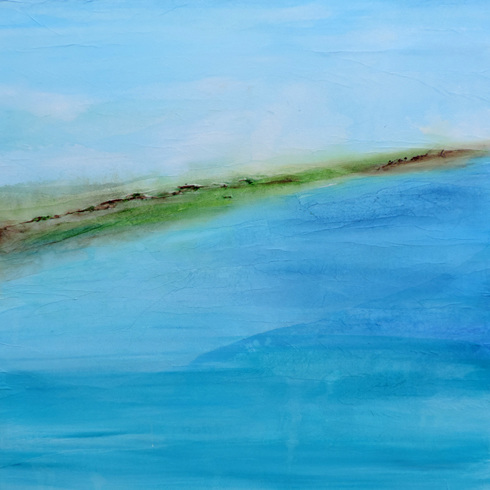 Turquoise Water, Porthcurno