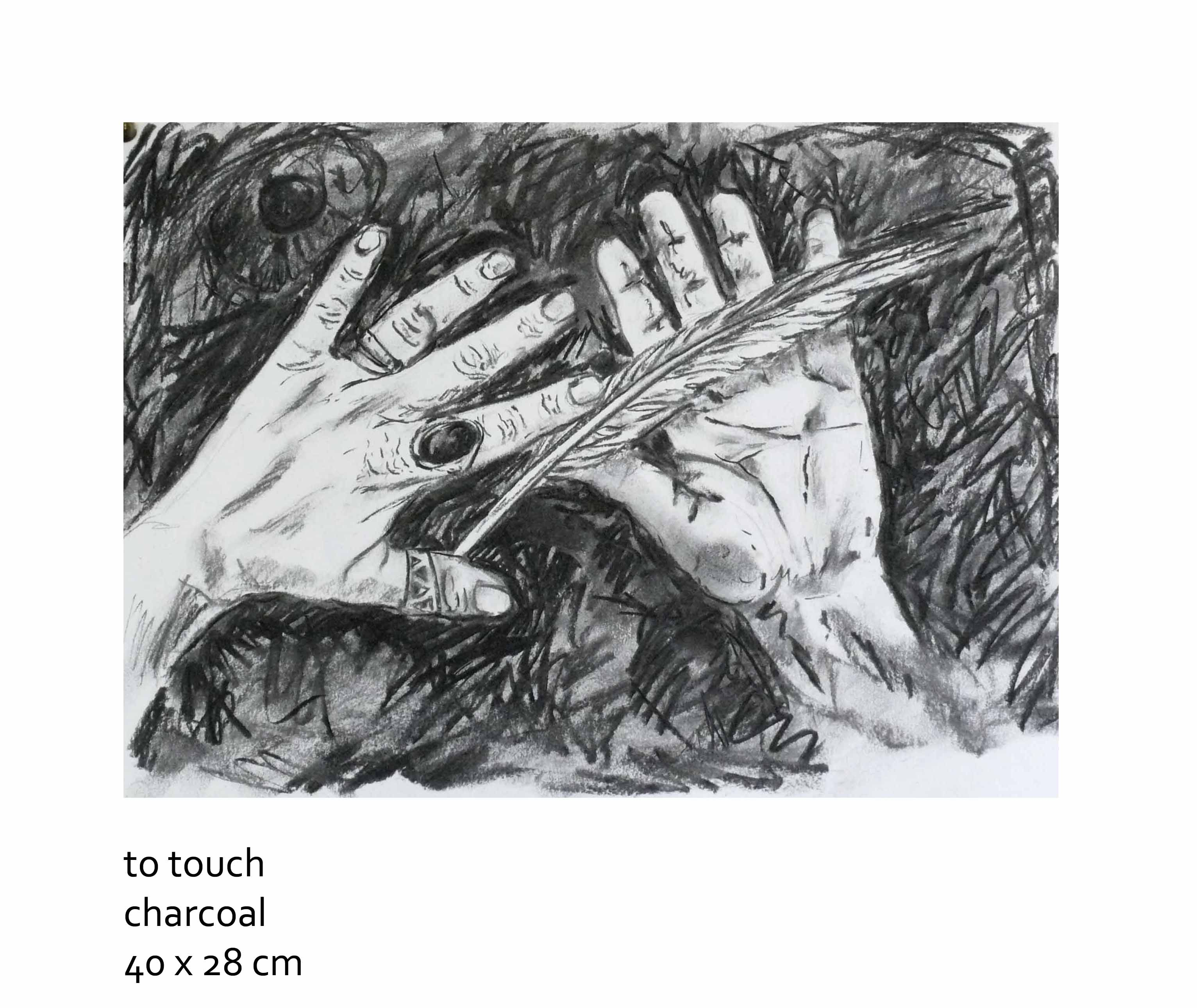 To touch