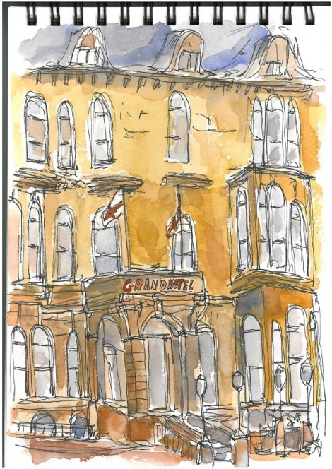 The Grand Hotel Tynemouth By David Hargreaves Wonderstreet