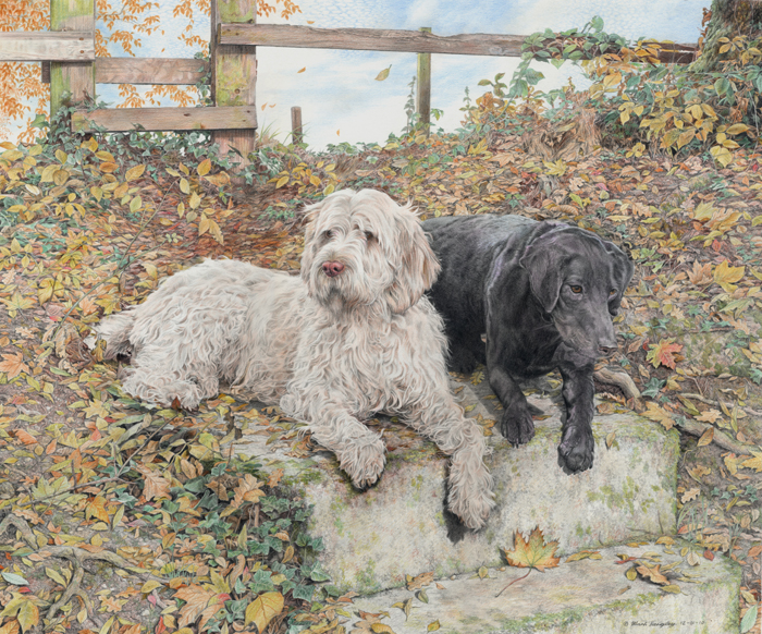 Isabella and Bailey