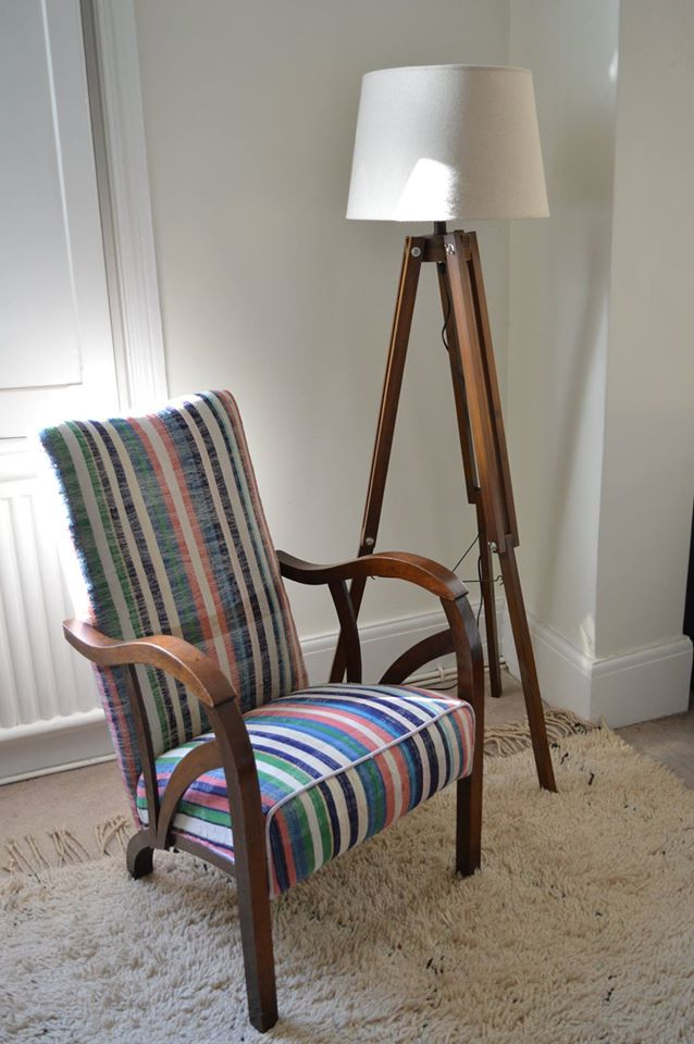 Re-worked Mid-Century Chair