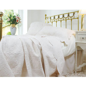 Handcrafted Uk Made, Quilted Bedspread