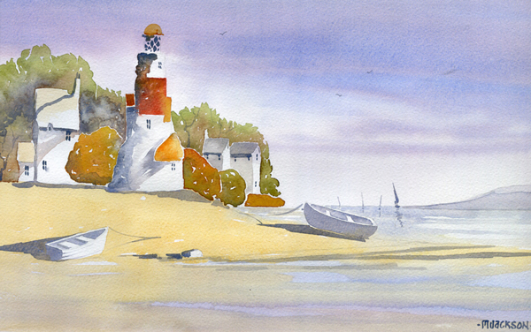 Boats & Lighthouse