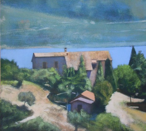 Farmhouse Lake Trasimeno