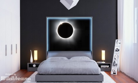 Pink Floyd Style in the Bedroom