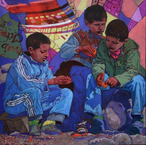Berber Boys  Atlas Mountains