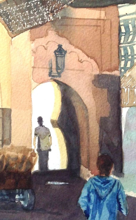 Arch and Lantern