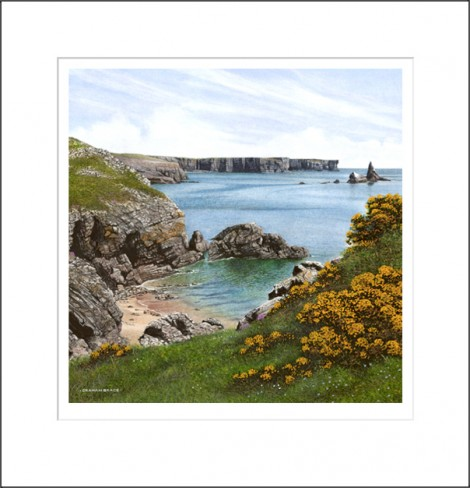 Stackpole Head and Church Rock