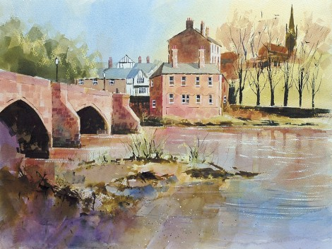 The Old Dee Bridge Chester