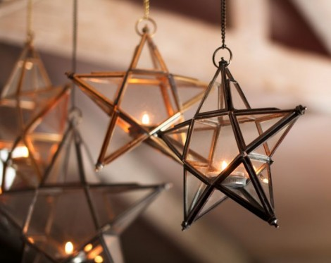 Glass Star Lanterns