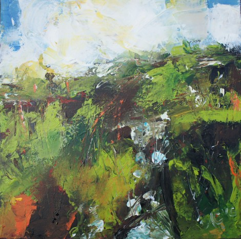 Surrey Hills in Spring by Anna Clarke