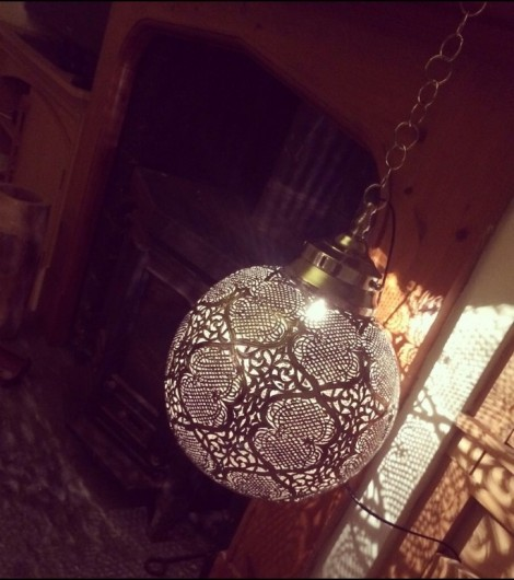 Traditional Moroccan Ball Lantern