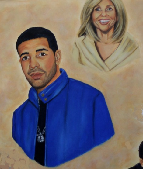 Drake group commission - Oil on Canvas