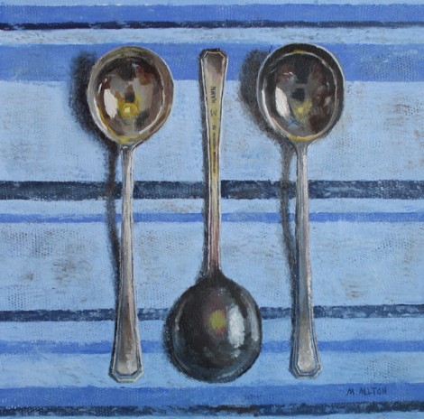 Silver Soup Spoons