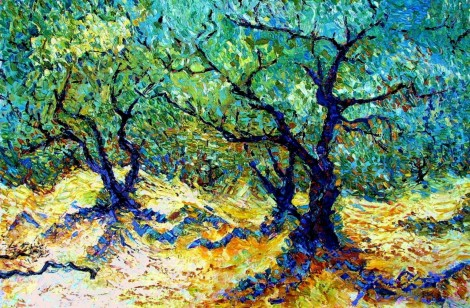 Almond tree in Andalucia 1