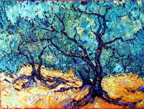 Almond tree in Andalucia 2