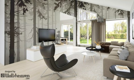 Modern Forest in the Modern Home