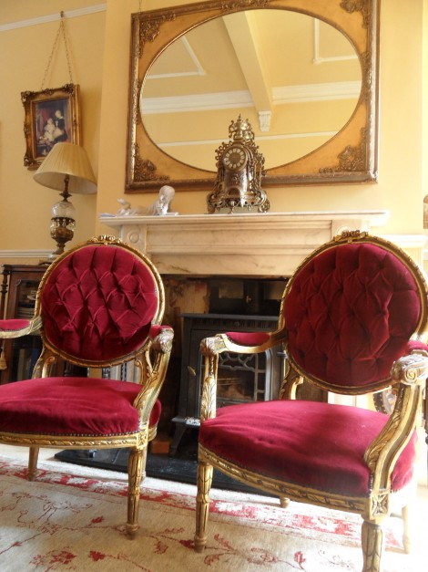 Pair of Grand Armchairs