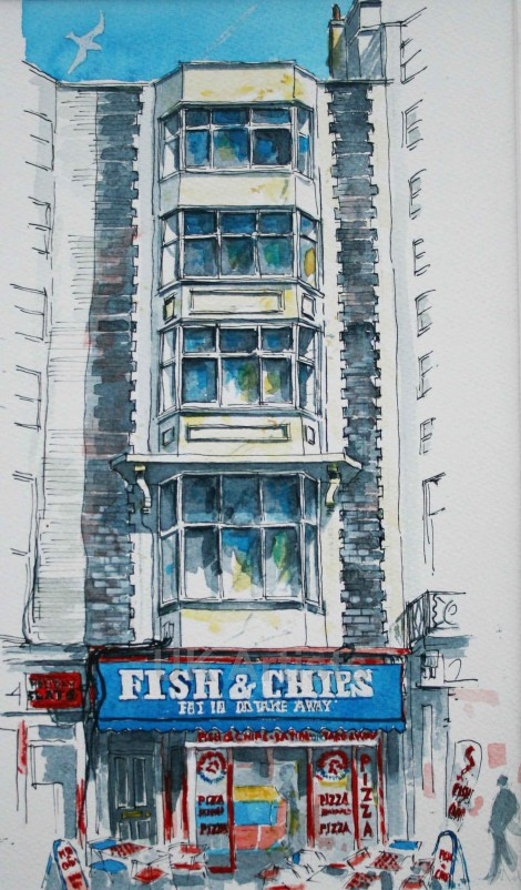Brightons Seafront Fish  Chip Shops no 4