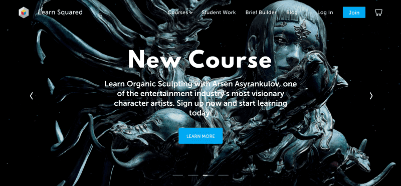 With Learn Squared, you have the rare opportunity to learn from industry-leading artists like illustrator Tran Nguyen, concept designer and illustrator Wouter Gort, and 2D and 3D concept artist Arsen Asyrankulov.